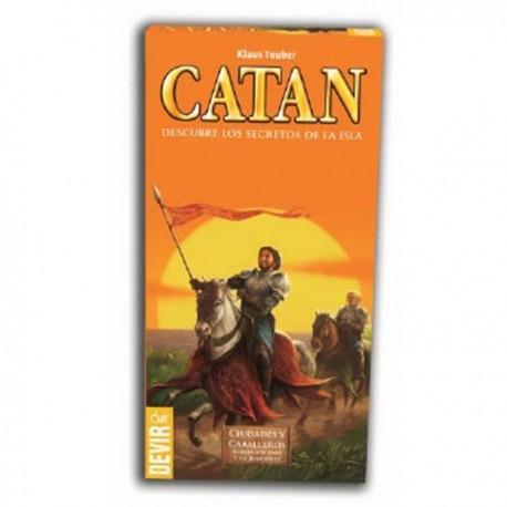 Los Colonos de Catán: Ciudades y Caballeros 5-6 jugadores