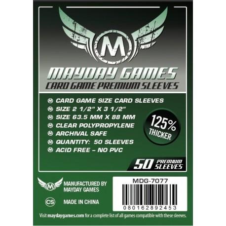 Fundas Mayday Estándar Premium (63.5 mm X 88 mm) (50 uds)