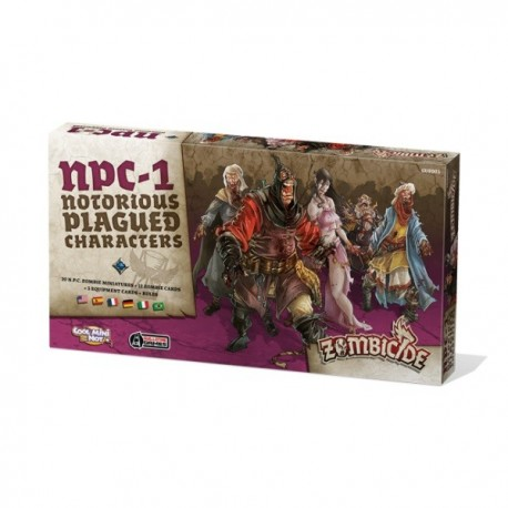 Comprar ZOMBICIDE: BLACK PLAGUE - NOTORIOUS PLAGUED CHARACTERS