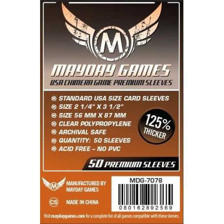 Fundas Mayday Chimera Premium (57,5 mm x 89 mm) (50 uds)