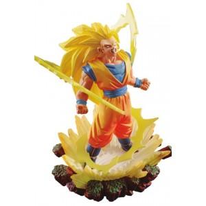 Estatua PVC Super Saiyan 3 Son Goku 10 cm - Dragonball Super Dracap Memorial 03