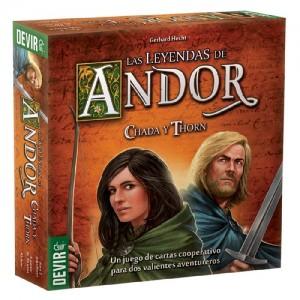 Las leyendas de Andor 2 jugadores: Chada y Thorn