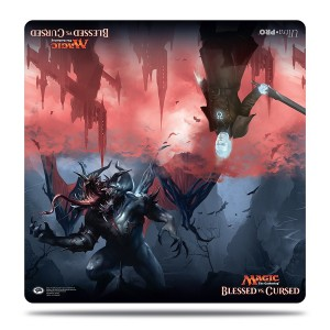 Tapete Ultra Pro Duel Play - Blessed Vs Cursed 61x61 cm