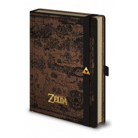 Libreta A5 Hyrule Map - Legend of Zelda