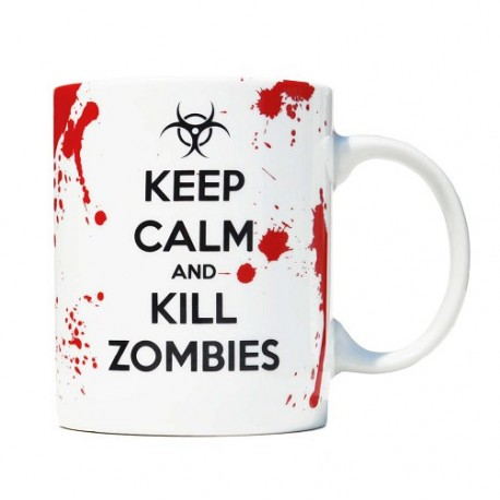 Taza Mug Kill Zombies