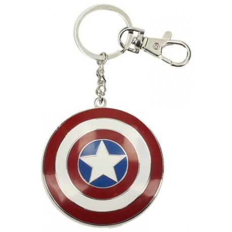 Llavero metálico Escudo Capitán América