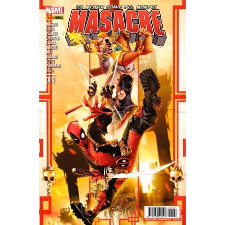 MASACRE Nº09 (NUEVA ETAPA DESPUES DE SECRET WARS)