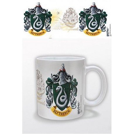 Taza Escudo Slytherin - Harry Potter