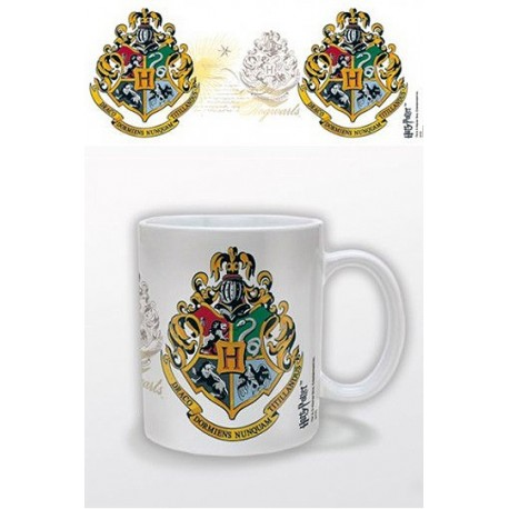 Taza Escudo Hogwarts - Harry Potter