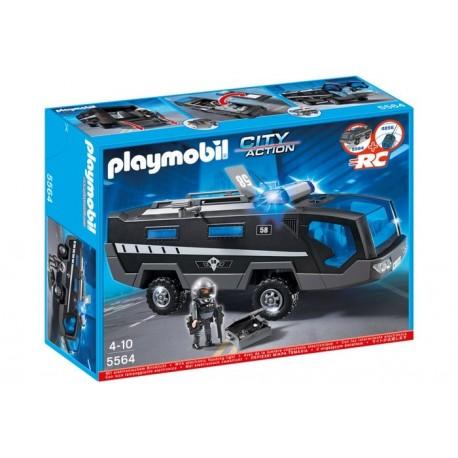 Camión Unidad Especial de Policía - 5564 - Playmobil