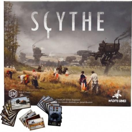 Scythe - Juego en Castellano + Promos