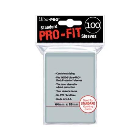 Fundas Pro-Fit Estandar - 64 x 89 mm (100 fundas) - Ultra Pro