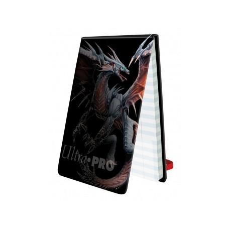 Libreta Contador de Vidas - Black Dragon - Ultra Pro