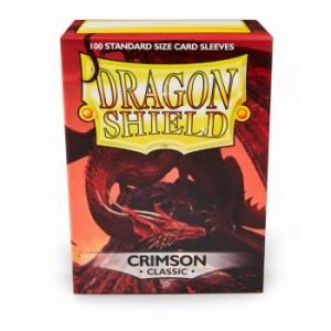 Fundas Dragon Shield Crimson Classic - Carmesí (100 uds)