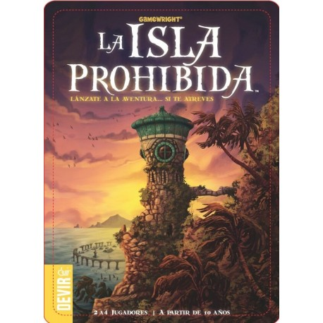 Caja Isla Prohibida Juego Mesa Devir