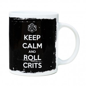 Taza Mug Roll Crits - Voodoo Island