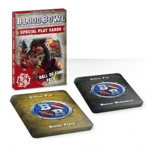 Blood Bowl: Tarjetas especiales colección salón de la fama