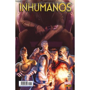 Inhumanos Nº 32 (Civil war II)