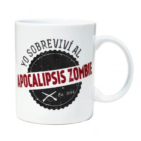 Taza Mug Superviviente Apocalipsis Zombie - Voodoo Island