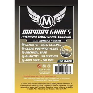 Fundas Mayday Gold Ultra Fit Premium (80 x 120 mm) (50 uds)