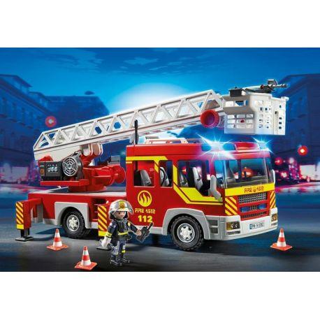 Camión de Bomberos y Escalera con Luces - Playmobil - 5362