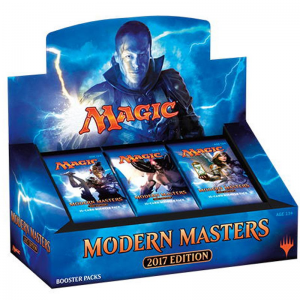 Caja sobres Modern Masters 2017 Booster Box