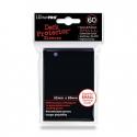 Funda Mini Solid Negra 62 x 89 mm (60 fundas) - Ultra Pro