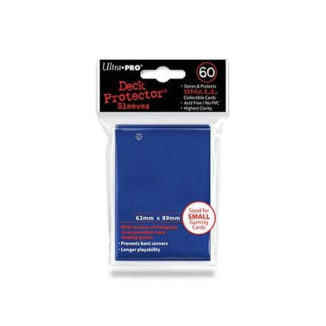 Funda Mini Solid Azul 62 x 89 mm (60 fundas) - Ultra Pro