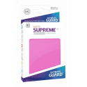 Fundas de Cartas Tamaño Estándar Fucsia Mate (80) - Ultimate Guard Supreme UX