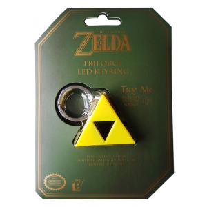 Llavero con Iluminación y sonido Triforce - Legend of Zelda