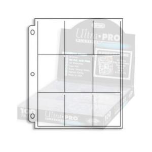 1 x Página para album 9 bolsillos Platinum Series. - Ultra Pro