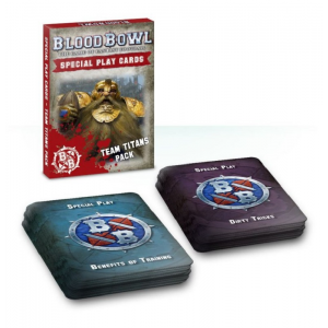 Cartas Especiales de Blood Bowl: Equipo Titanes