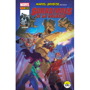 Marvel Universe Presenta Nº 07 : Guardianes de la Galaxia