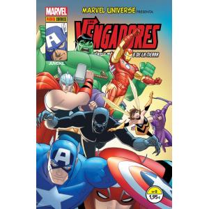Marvel Universe Presenta Nº 08 : Los Vengadores