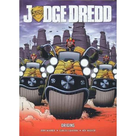 Juez Dredd - Orígenes
