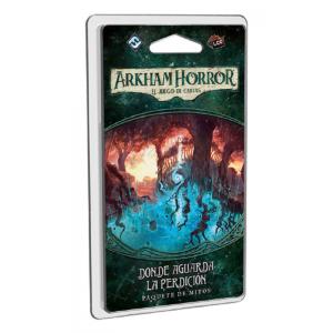 Arkham Horror: El juego de cartas - Donde aguarda la perdición