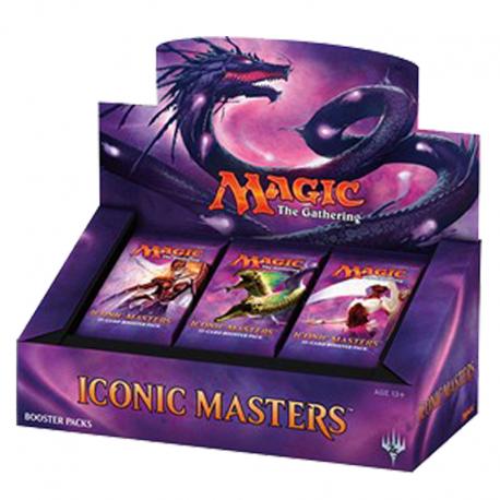 Caja de sobres de Iconic Masters Booster Box
