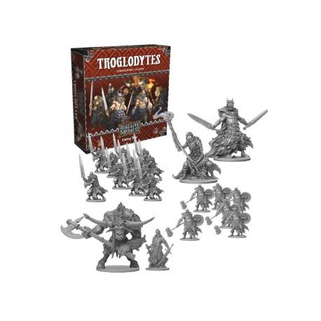 Massive Darkness - Enemy Box: Troglodytes - Inglés