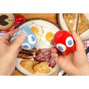 Salero y pimentero fantasmas de Pac Man