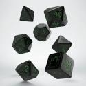 Set de Dados La Llamada de Cthulhu Negro y Verde (7)