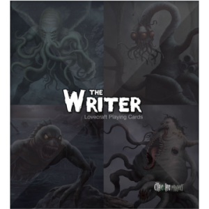 The Writer - Lovecraft Playing Cards