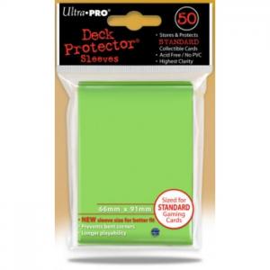 Funda Verde Lima tamaño Estandar 66 x 91 mm (50 fundas) - Ultra Pro