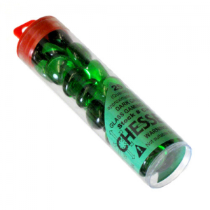 Contadores Verdes - Gaming Stones Green - Chessex