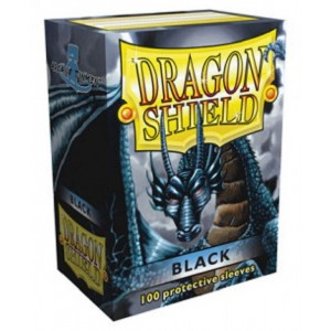 Fundas Dragon Shield - Negras (100 uds)