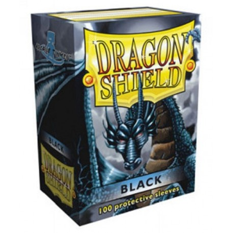 Fundas Dragon Shield - Negras (100 uds)
