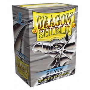 Fundas Dragon Shield - Plata (100 uds)