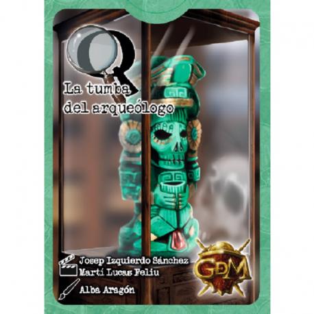 Misterios Q - Serie 1 - La tumba del arqueólogo