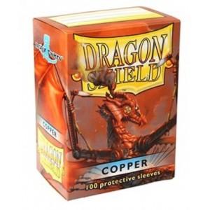 Fundas Dragon Shield - Cobre (100 uds)