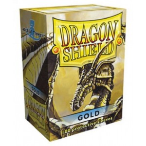 Fundas Dragon Shield - Oro (100 uds)