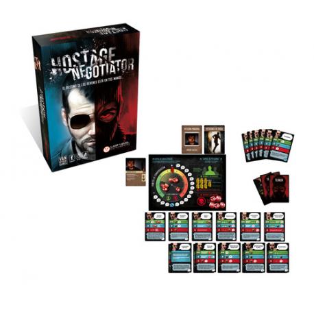 PACK Hostage - El Negociador: Juego Base + Expansiones